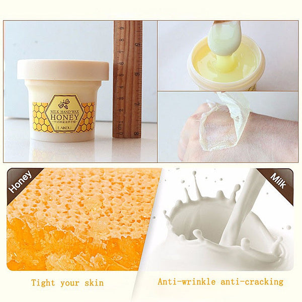 Hand Care Milk Honey Hand Wax