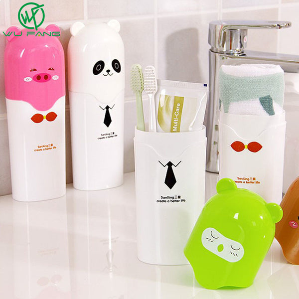 Cute Cartoon Children Toothbrush Holder