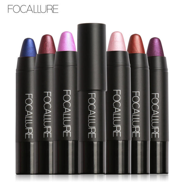 FOCALLURE NEW Colors Lipstick Matte Metallic Lipstick