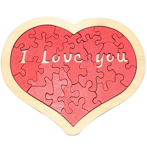 Love Puzzle for Valentine's Day Present