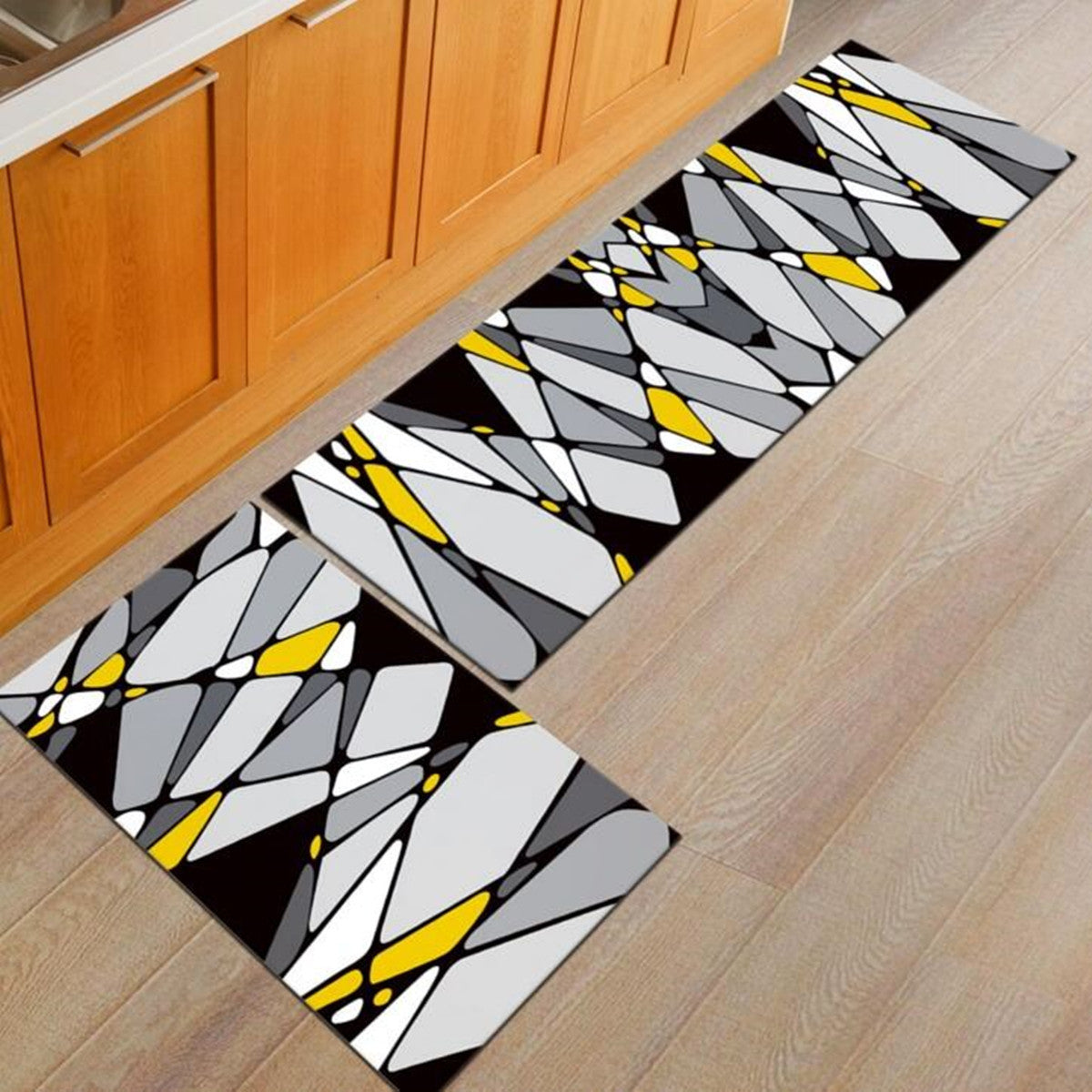 2PCS Non-slip Kitchen Floor Mat