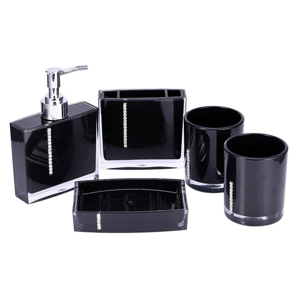 5PCS Suit Acrylic Bathroom Set