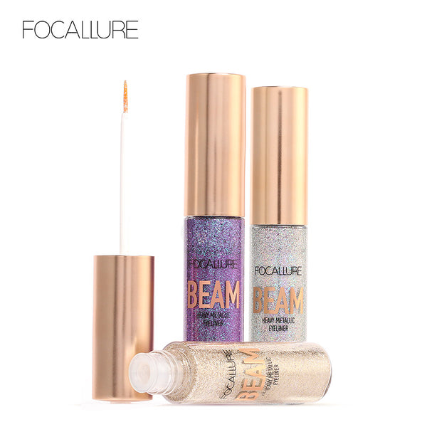 FOCALLURE New Arrivel 5 Colors Glitter Eyeliner