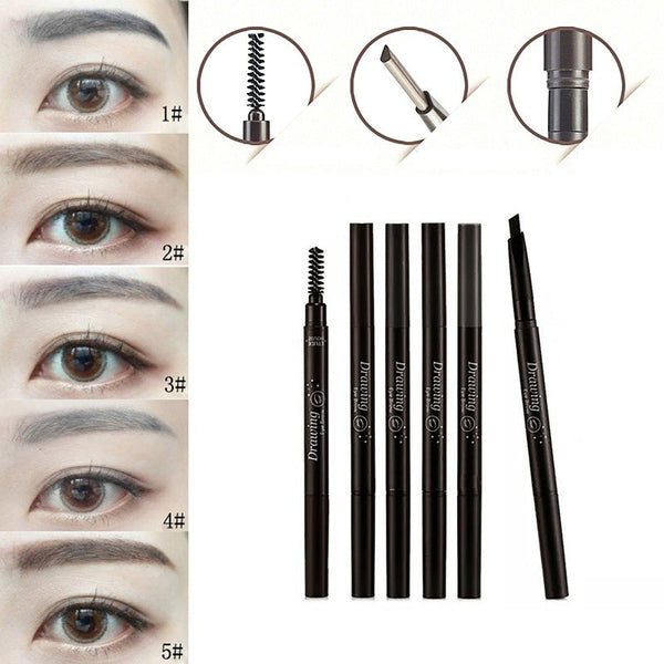 5 Colors Double ended Eyebrow Pencils