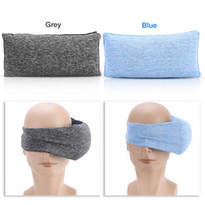 Multi-purpose Travel Sleep Mask Pillow