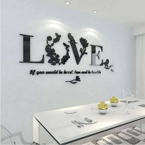 Love Wall Decal