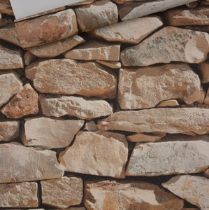 Chinese Retro Imitation Stone Wallpaper