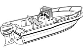 Center Console with Bow Rails