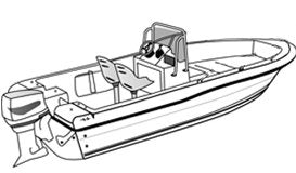 Bay Style Fishing Boat