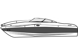 Runabout with Bow Rails
