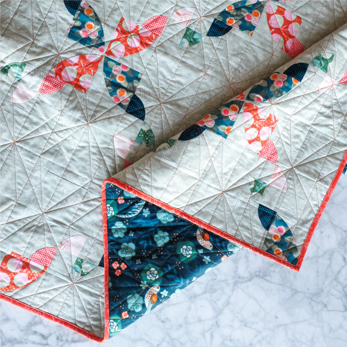 Quilting Geo Diamonds with Your Domestic Machine