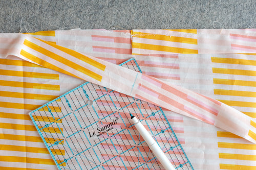 Quick and Simple Free Ironing Board Cover Sewing Tutorial by The Weekend Quilter attach loop