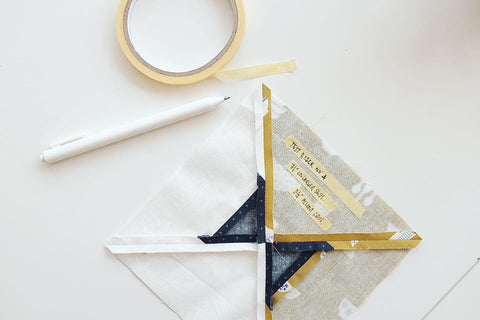 quilting painter's tape masking hack tutorial tip quilter