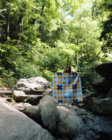 Harlan quilt, central park, free quilt pattern, baby quilt, #theweekendquilter, #harlanquilt, the weekend quilter