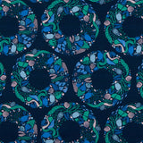 salt wind sea wreath in navy multi by figo fabrics fabric dot com fabric.com How to choose quilting fabrics from the same hue fabric pull modern quilting the weekend quilter the.weekendquilter tutorial sewing