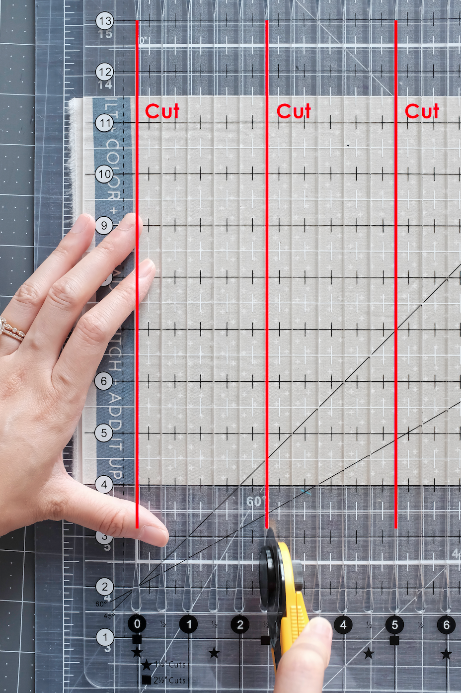 Stripology ruler creative grids cutting short cuts scrappy summer sew along 2020 scraps