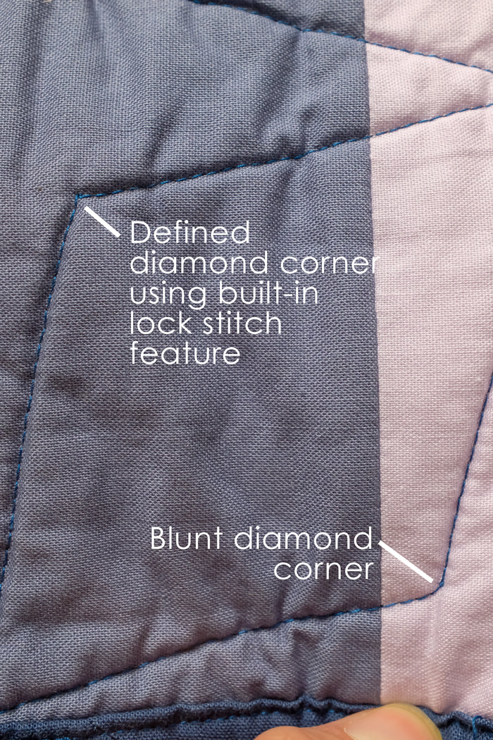 Geo Diamonds Domestic Machine Quilting Tutorial The Weekend Quilter