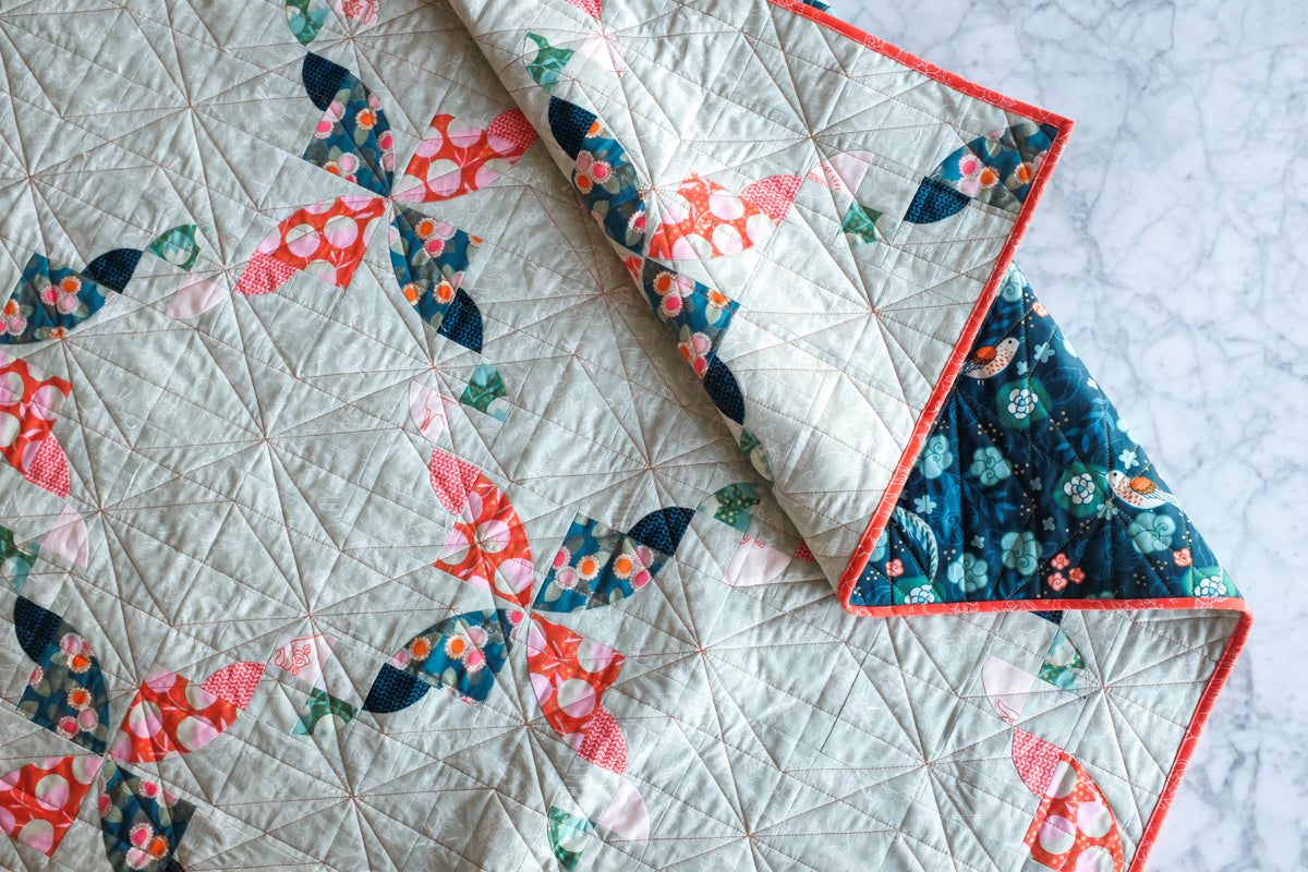 The Weekend Quilter Geo Diamonds Straight line Quilting  Domestic Machine Quilting Tutorial