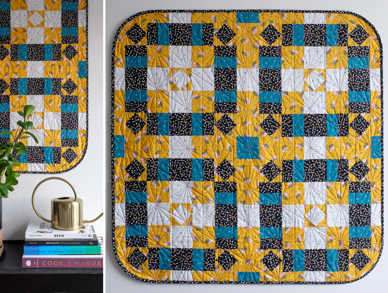 The Weekend Quilter_How To Make Rounded Quilt Corners Tutorial