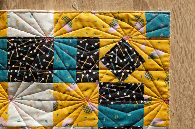 The Weekend Quilter_How To Make Rounded Quilt Corners Tutorial Step 2