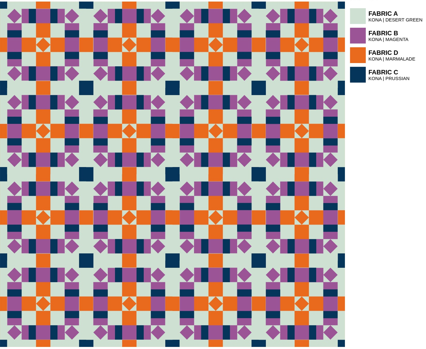 The Weekend Quilter Plaidful Modern Quilt Pattern Digital coloring page Colour Inspiration