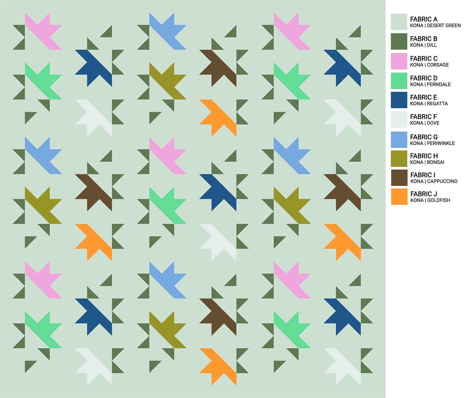 Solar Slice Quilt the weekend quilter the.weekendquilter modern sawtooth star prequilt colouring coloring