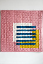 Load image into Gallery viewer, Interlocked Wall Quilt in Rose