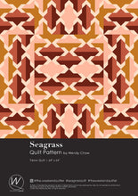 Load image into Gallery viewer, Seagrass Quilt Pattern by the.weekendquilter the weekend quilter modern quilt pattern