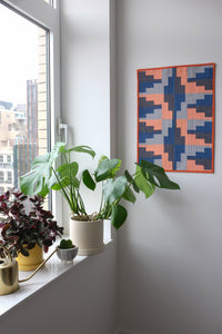 The Weekend Quilter Empire State Mini Quilt Pattern Styled