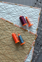 Load image into Gallery viewer, The Weekend Quilter Sample Sale Simple Solid Neutral Wholecloth Baby Size Quilt