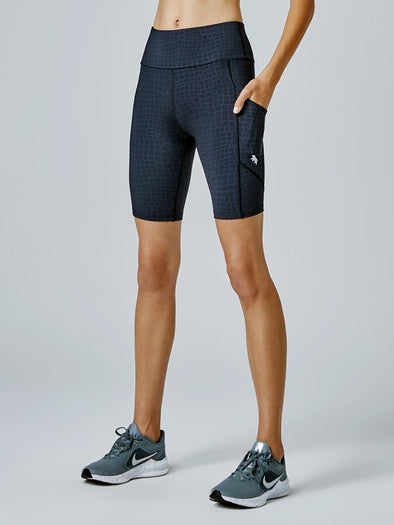 "ALL STAR AB-WAIST BIKE TIGHT 9""- ROONEY CREW (6708261257378)"