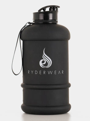 RYDERWEAR 1.3L WATER JUG- Black (4418565603428)