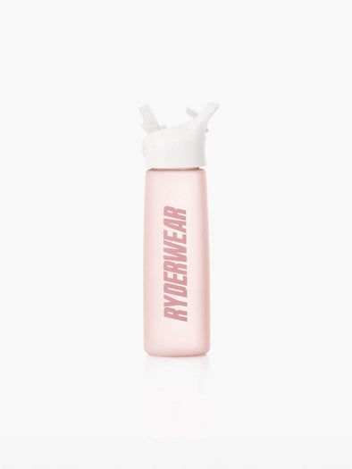 RYDERWEAR STRAW DRINK BOTTLE- DUSTY PINK (4517055365220)