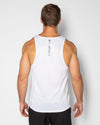 ASPIRE TRAINING SINGLET- WHITE (4462477508708)