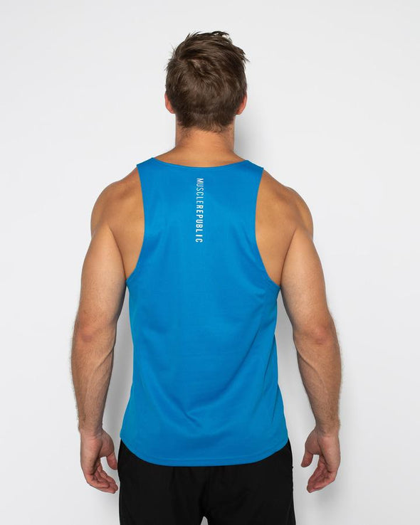 ASPIRE TRAINING SINGLET- BLUE (4462476263524)