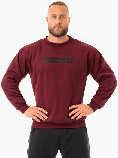 FORCE PULLOVER- BURGUNDY (6700202459298)