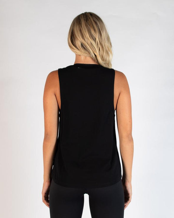 BREEZE MUSCLE TANK - BLACK MSCR (4477962748004)