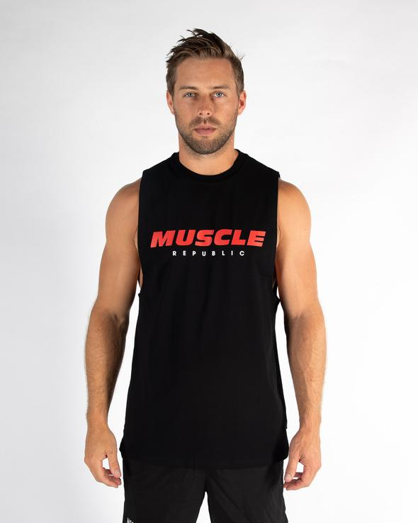 ROCKY MUSCLE TEE- ORIGINAL SIGNATURE (4512071123044)