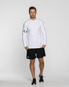 MEN'S CREED LONG SLEEVE- WHITE (5339615428770)