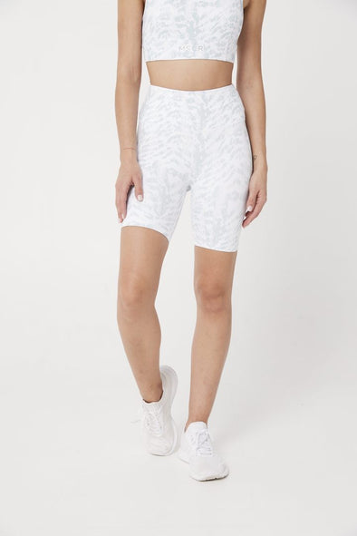 BIKER SHORTS- WHITE CEO (6102711074978)