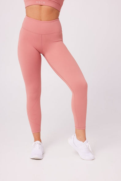 NEUTRALS - 7/8 LEGGINGS -BRICK DUST (6622970314914)