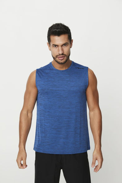 PHOENIX SLEEVELESS TANK- NAVY (5935468249250)