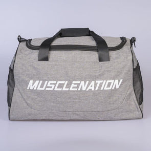 SQUARE TRAINING DUFFLE BAG - GREY (4418603778148)