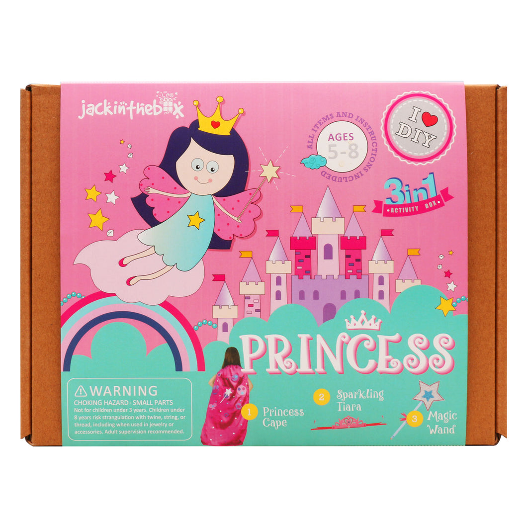 JackInTheBox 3-in 1 Princess