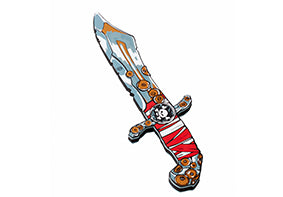 Liontouch Pretend-Play Foam Red Stripe Pirate Knife