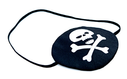 Liontouch Pretend Play Dress Up Costume Pirate Eye Patch Pirate White Skull