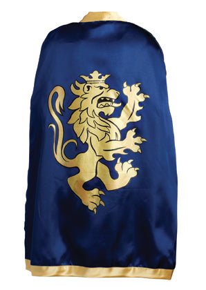 Liontouch Pretend Play Dress Up Costume Knight Cape Noble Knight Blue