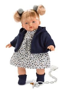 Llorens Melissa Crying Doll 13 inches