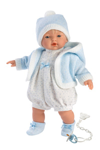 "Llorens 13"" Soft Body Baby Doll James"