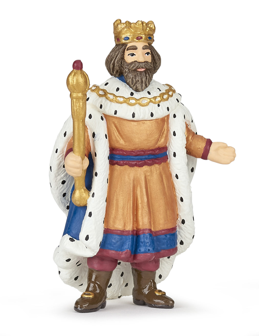 Papo France King With Gold Sceptre - NEW!